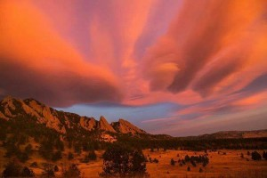 Flatirons Sunrise