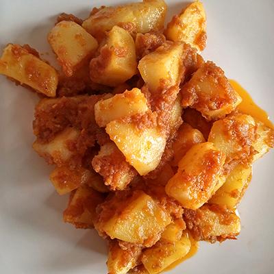 Alu Khatsa ( Spicy Potato)